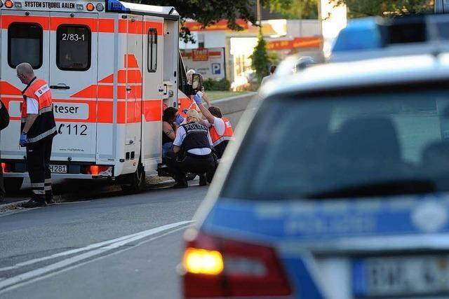 Vier Verletzte bei Raubüberfall auf Supermarkt