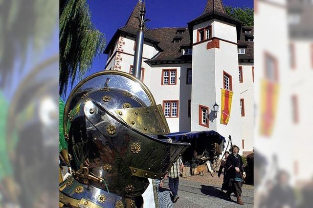 Schloss wird zum Ritterlager