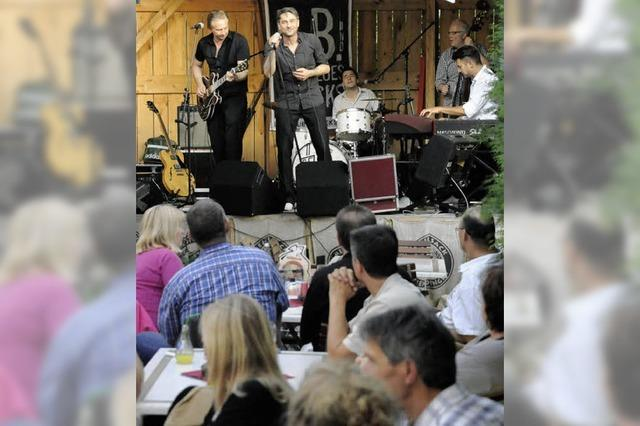 "B.B. and the Blues Shacks aus Hildesheim im ""Mehlsack"""