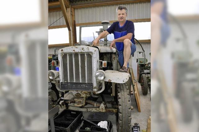 Traktorenfreunde Markgräflerland feiern ihr zehnjähriges Bestehen