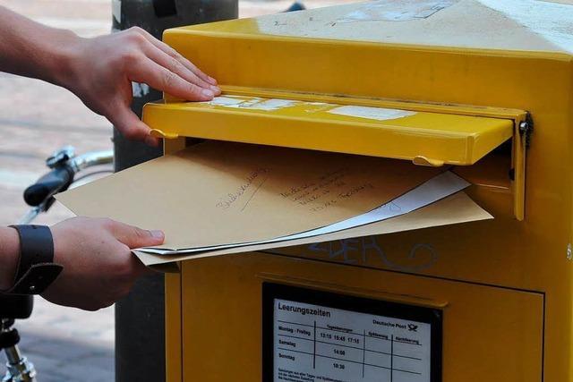 Briefkasten wochenlang nicht geleert – Post arbeitet Panne auf