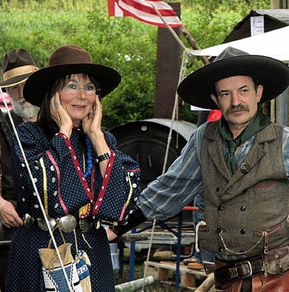 cowboys trapper und indianer im altdorfer ried