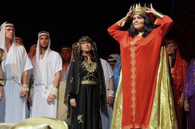 """Open-Air-Veranstaltung """"Nabucco"""" begeistert die Zuschauer"""