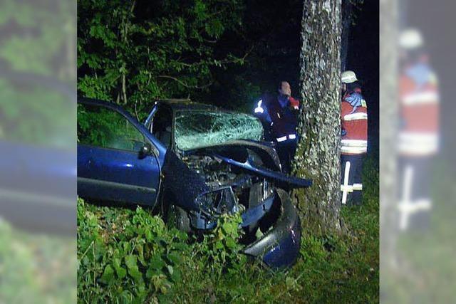 27-Jährige prallt auf einen Baum und stirbt