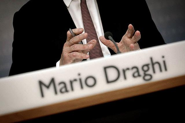 Europäische Zentralbank nennt den Euro irreversibel