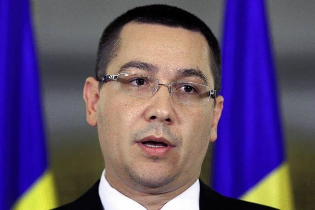 Rumänien:Premier Ponta über seinen Machtkampf mit Präsident Basescu
