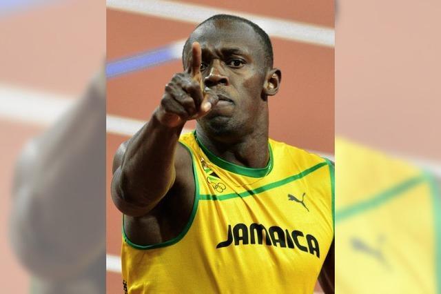 Usain Bolt – und noch ein Himmelsstürmer