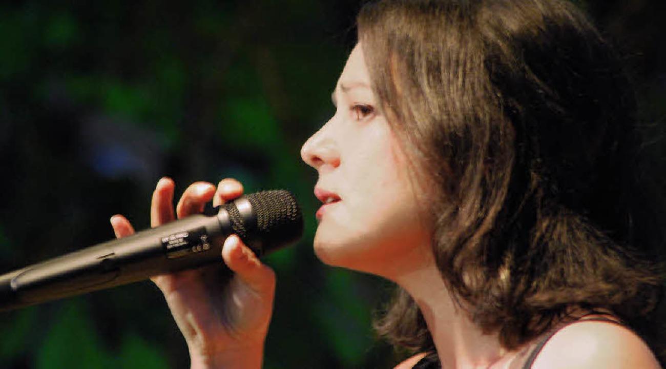 Zarte und doch präsente Stimme: Alina Manoukian   | Foto: Thomas Loisl Mink