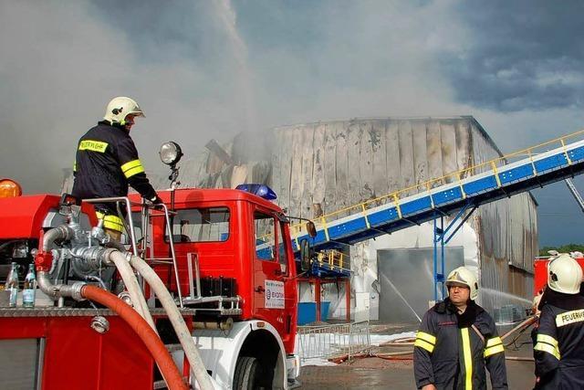 Lösch-Schaumstreit: Stadt zahlt und verzichtet auf Rechtsmittel