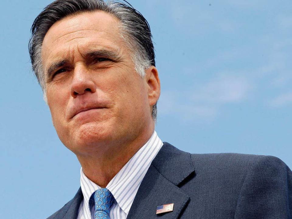 Wer wird sein Vize-Kandidat? Mitt Romn...er bei der US-Präsidentschaftswahl an.  | Foto: dapd