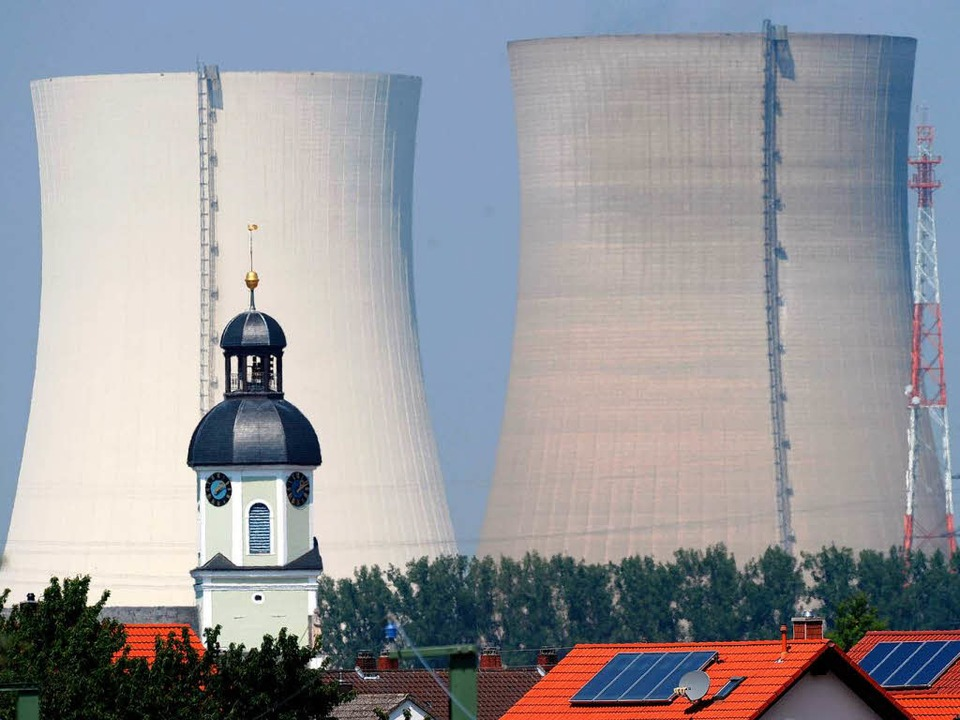 Das Atomkraftwerk Philippsburg I.  | Foto: dpa