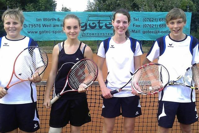 Meistertitel für die Tennis-Jugend