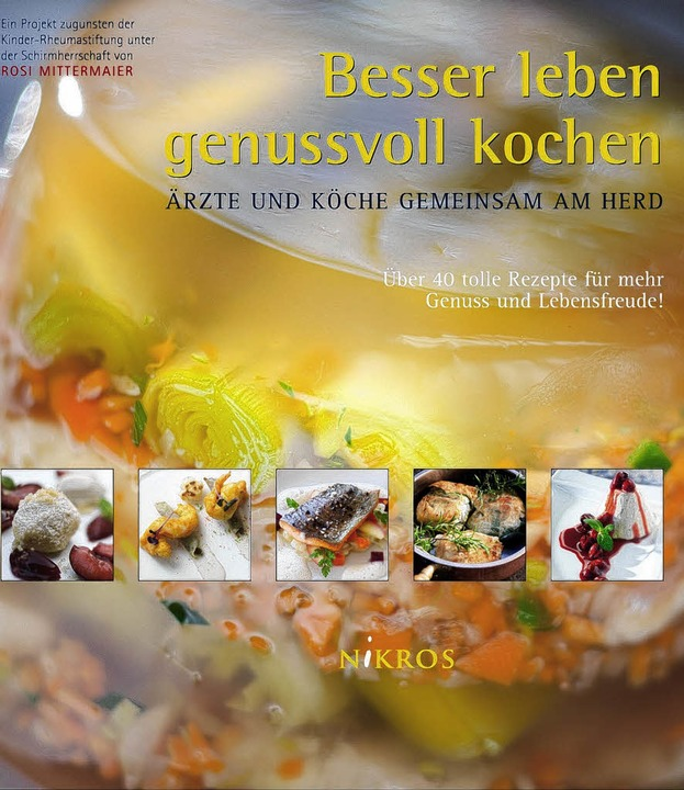 Kochbuch von Rheuma-Ärzten  | Foto: Europa-Park