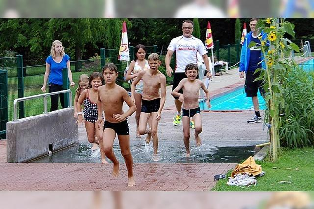 Training für den Kaiserstuhl-Triathlon