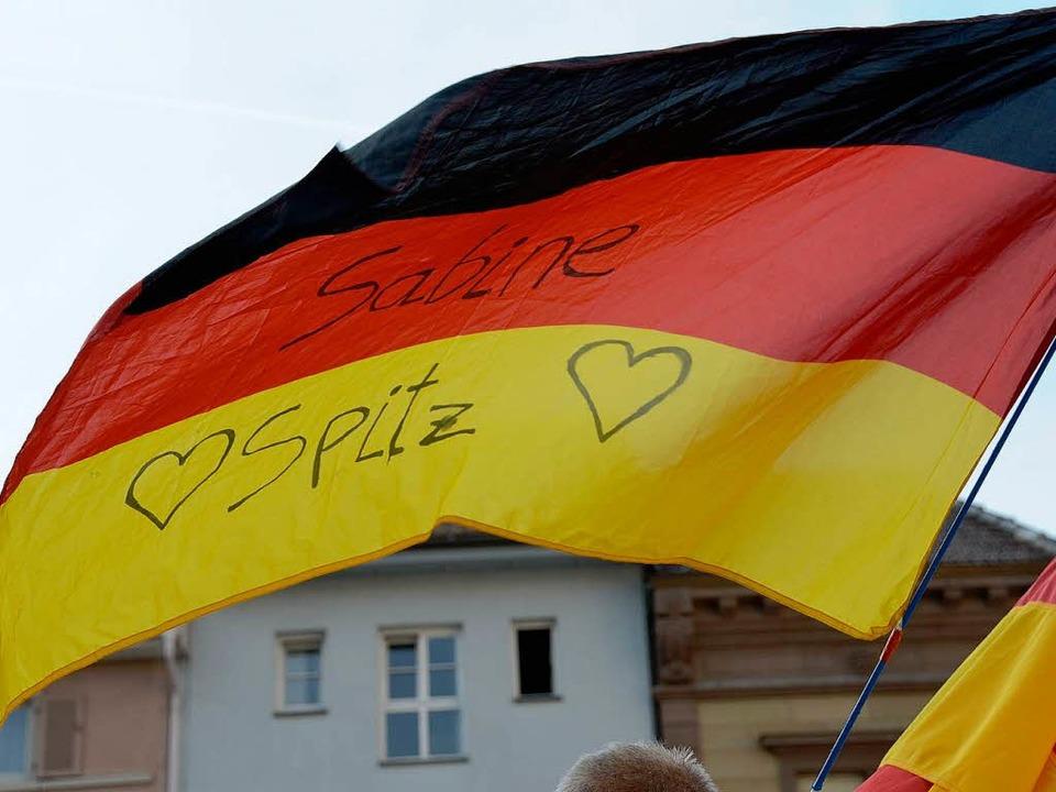 Zwei Herzen für Sabine  | Foto: Jens Klein