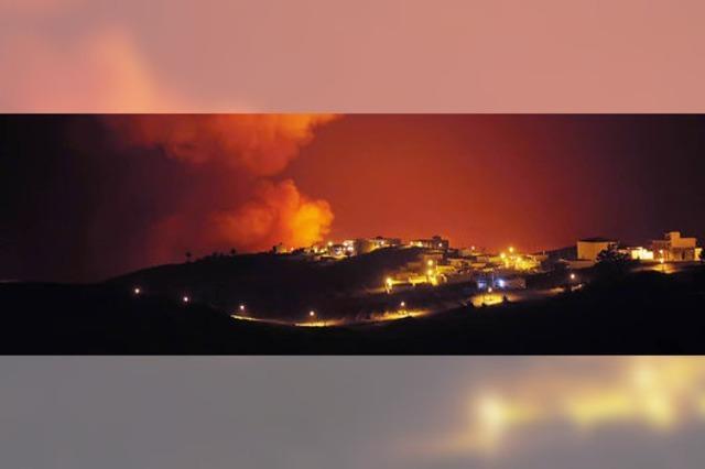 Waldbrand auf La Gomera bedroht Ferienort