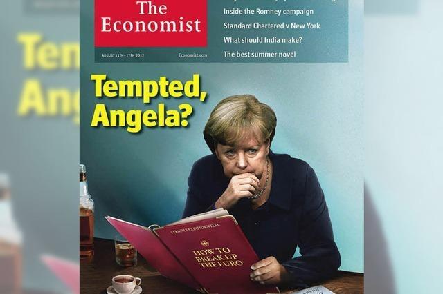 Merkel zurück aus dem Urlaub