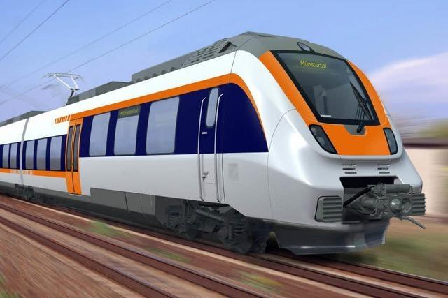 Ausbau der Münstertalbahn läuft