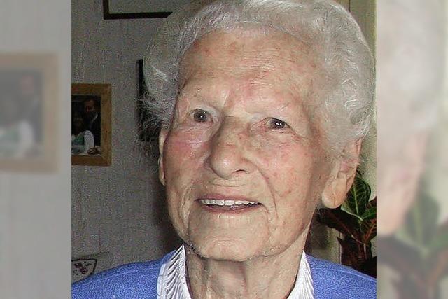 Rosa Ruh feiert 95. Geburtstag