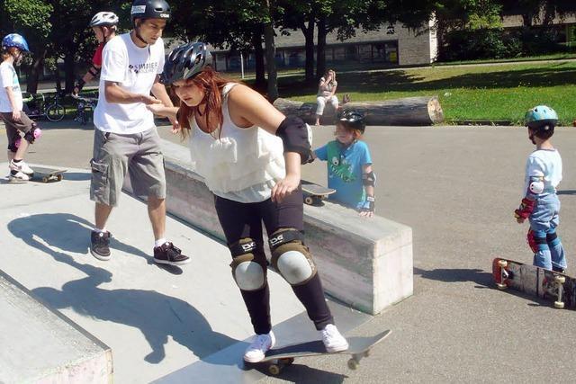 Skaten ist eine Erfahrung wert