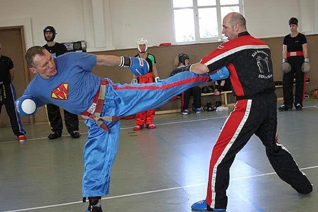 Training mit Supermack