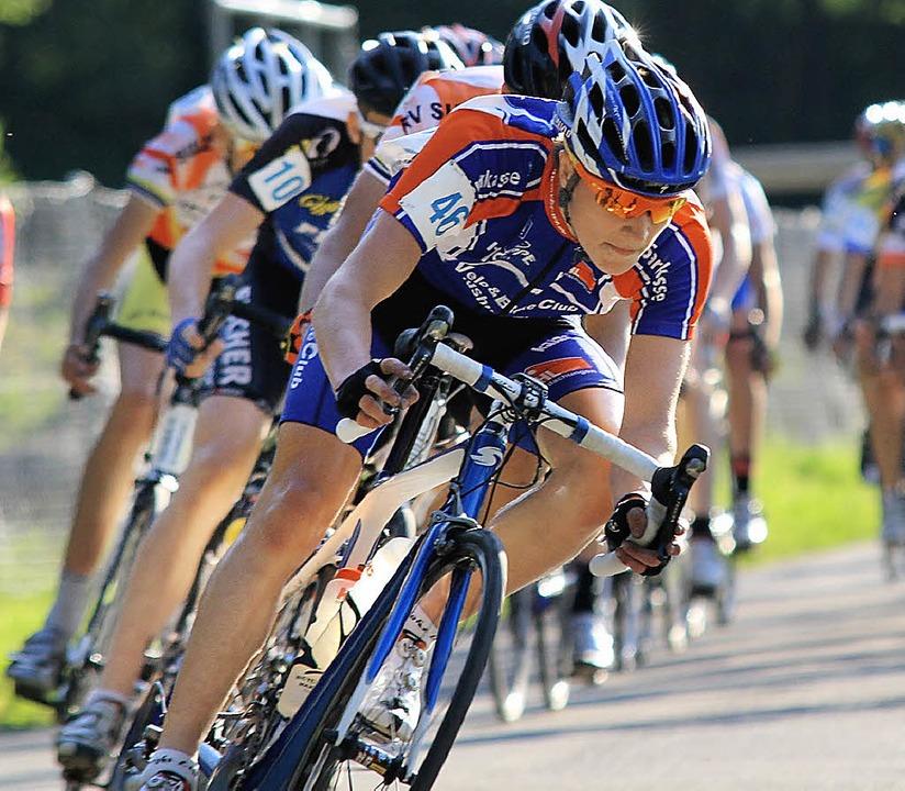 Hat Gesamtsieg bei Abendrennen in Brugg sicher: Timo Denz     Foto: Privat