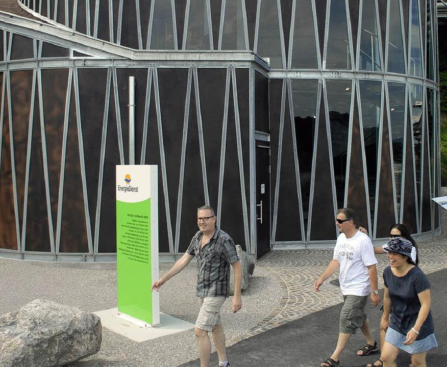 Der Pavillon beweist Anziehungskraft.  | Foto: Jannik Schall