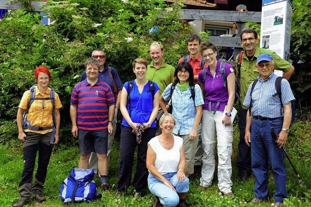 Reisejournalisten sahen sich ganz genau im Tal um