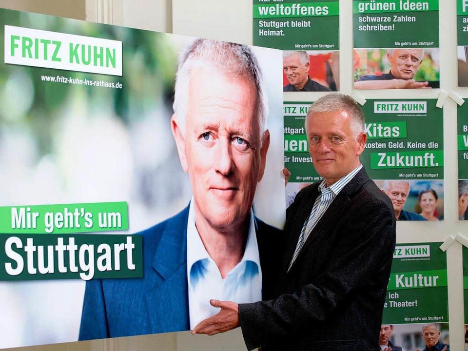 Fritz Kuhn  | Foto: dpa