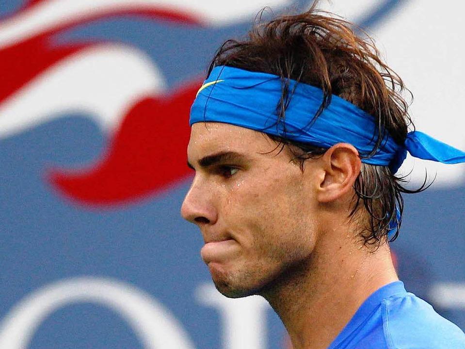 2011 war er noch dabei, nun hat Rafael...die Teilnahme an den US Open abgesagt.    Foto: dapd