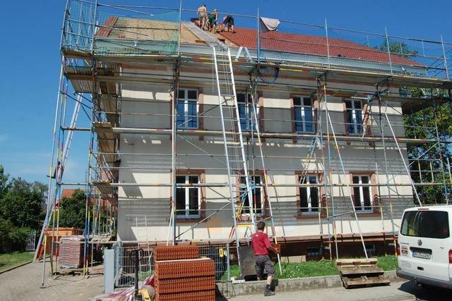 Renovierung kurz vor dem Abschluss