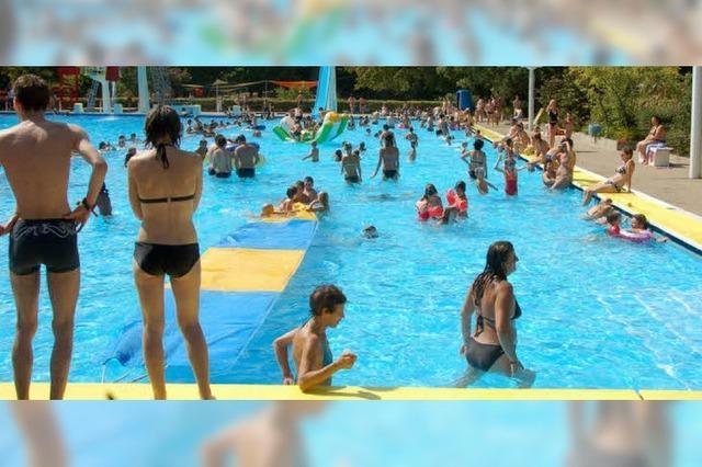 Wo baden Weiler in diesem Sommer?