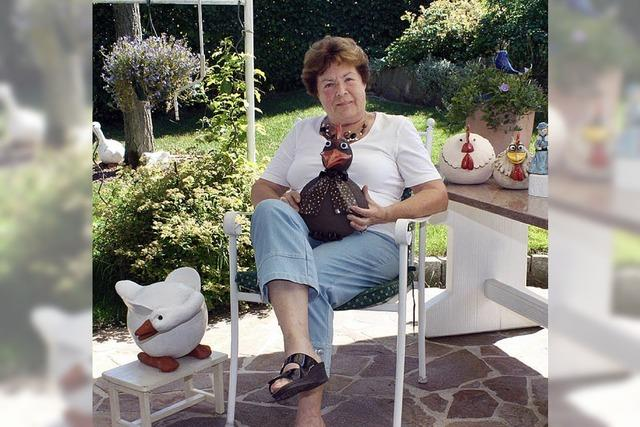 Seit 20 Jahren gestaltet sie Keramikfiguren – und lernt nie aus