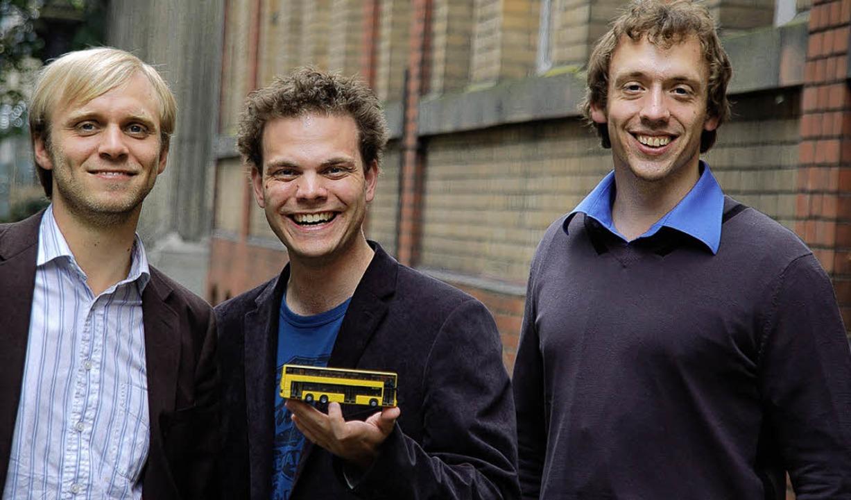 Die Gründer (v.l.) Alexander Kuhr, Ingo Mayr-Knoch und Christian Janisch  | Foto: Promo