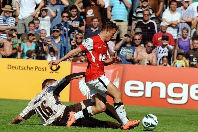 Offenburger FV gegen St. Pauli (0:3): Sportliche Überraschung bleibt aus