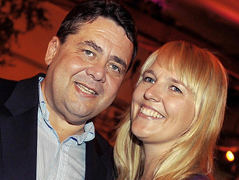 Sigmar und Anke Gabriel (geb. Stadler) 2009   | Foto: dpa