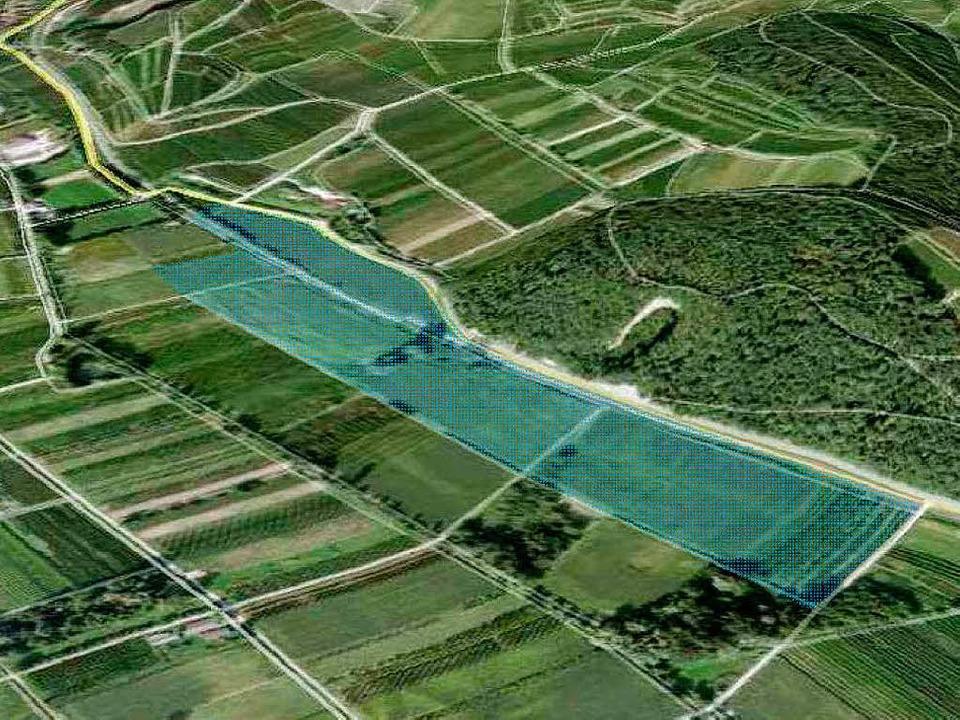 Bei Niederrotweil soll auf  14 Hektar ein Solarpark entstehen.  | Foto: fsp stadtplanung