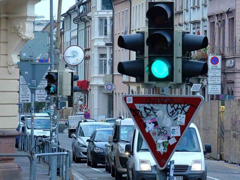 Mehr Verkehr in der Belfortstraße befürchtet das Bürgerforum.  | Foto: M. bamberger