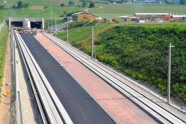 Katzenbergtunnel: Erste Probefahrt am 3. September
