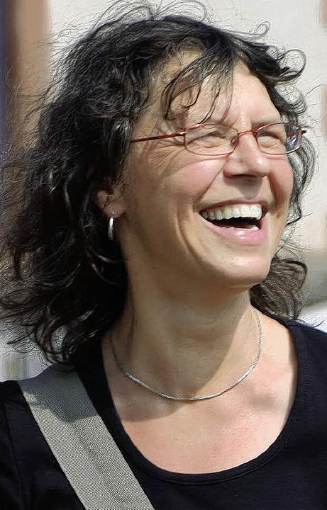 Geschafft: Pressesprecherin  Jutta Trautwein freut sich.  | Foto: Markus Maier