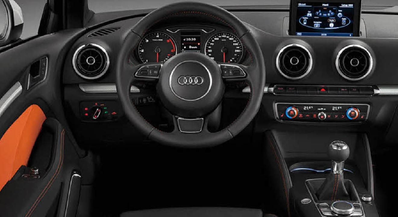 Ganz der Neue: Audis Kompakter folgt d...tand der Ingolstädter Ingenieurskunst.  | Foto: audi
