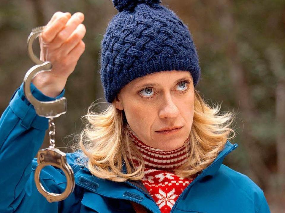 Caroline Peters als Kommissarin Sophie Haas  | Foto: ARD/Thomas Kost