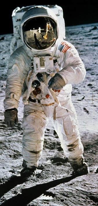 Erste Mann Auf Mond