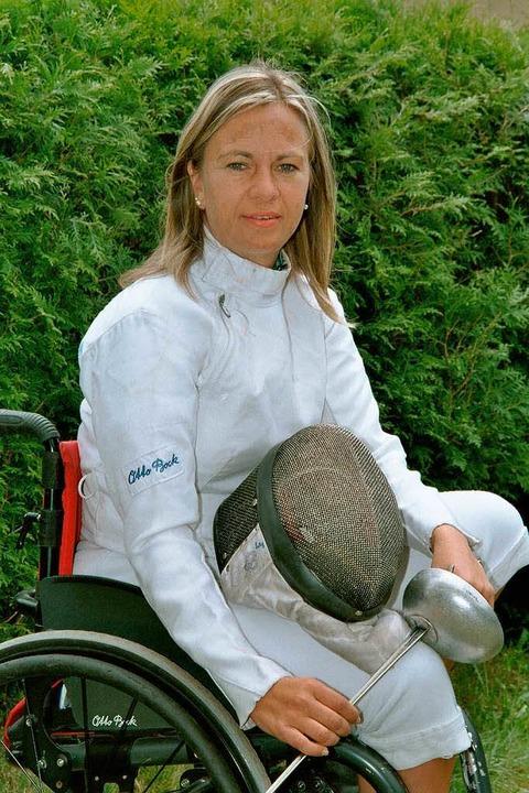 Esther Weber (hier ein Archivbild) trä...chen Wettkämpfen der Behinderten teil.  | Foto: Hubert Bleyer