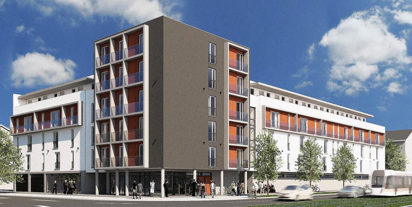 ein nobel studentenwohnheim ist in freiburg in planung freiburg badische zeitung. Black Bedroom Furniture Sets. Home Design Ideas