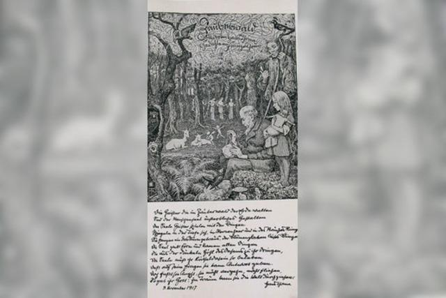 Zauberer und Waldgeister