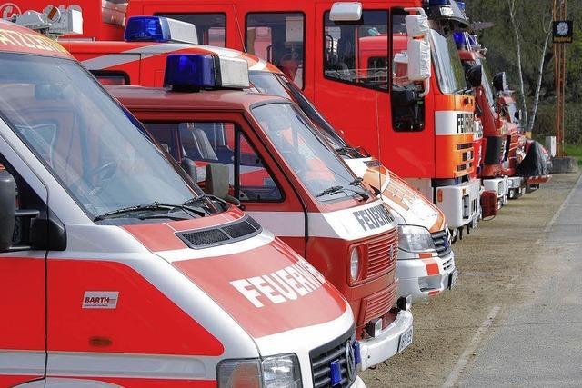 Feuerwehr laufen Kosten für Ausbildung davon