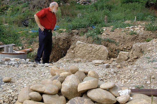 Das Steingrab gibt noch Rätsel auf