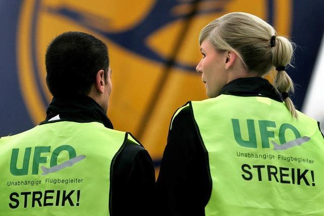 Gewerkschaft Ufo streikt zunächst an einzelnen Orten