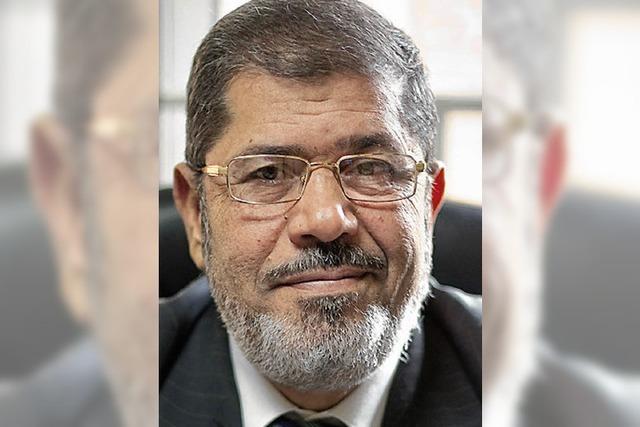 Mursi wirbt für die Revolution in Syrien